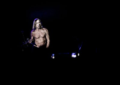 Iggy Pop at Mehr Theater Hamburg - by Dita Vollmond