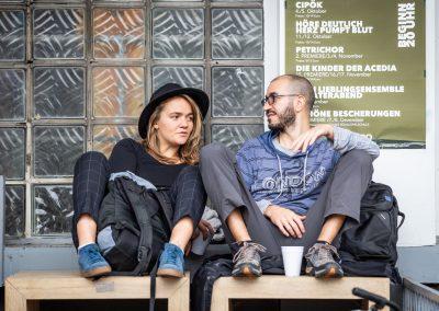 Hering im Speckmantel - 12.10.2019 - Kaffe Guezel - Koeln - by Dita Vollmond